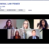 """Criminal Law Primer 2020"" by the Ontario Bar Association co-chaired by Hamna Anwar"